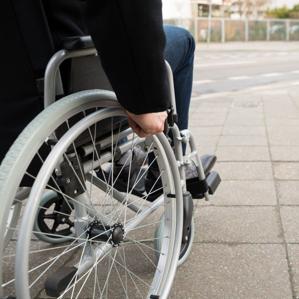 Ultra light standard wheelchair