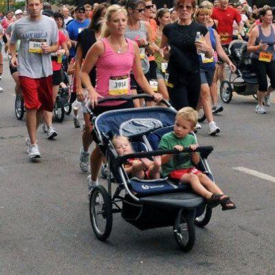 Double jogger stroller rental