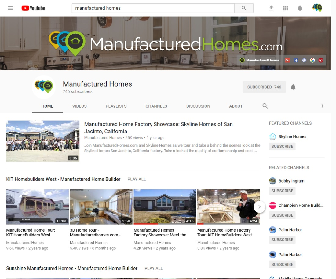 manufactured home financing manufacturedhomes.com