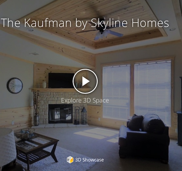 Manufactured Homes | Take a 3D Virtual Tour of 'The Kaufman