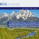 Kit manufactured homes and big mountain homes