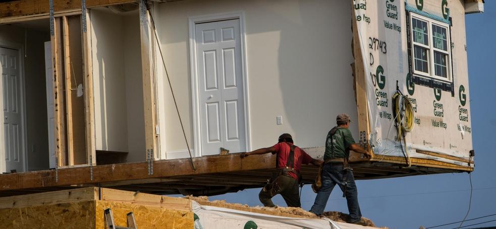 hurricane relief modular homes