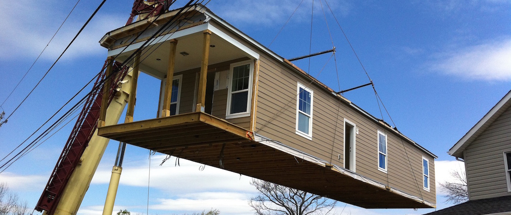 hurricane sandy modular home