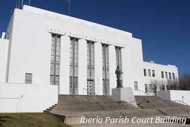 mobile home park iberia parish courthouse