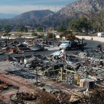 manufactured homes california wildfires