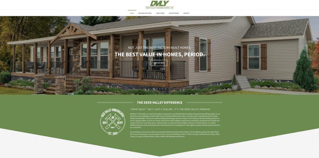 Pleasing Manufactured Homes Deer Valley Homebuilders Launch New Website Download Free Architecture Designs Xoliawazosbritishbridgeorg