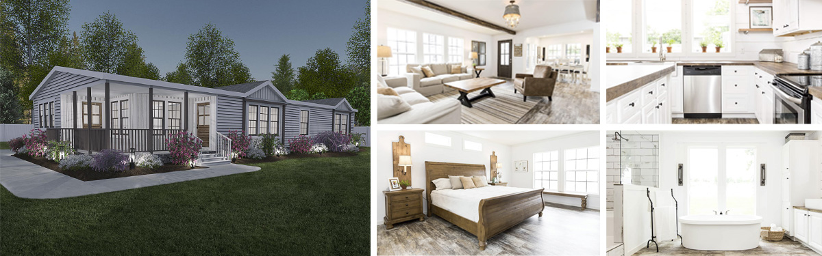 top 10 manufactured homes AMERICAN FARMHOUSE