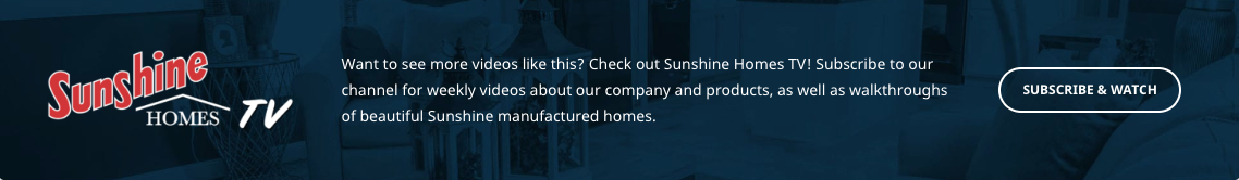 Sunshine Homes Tv