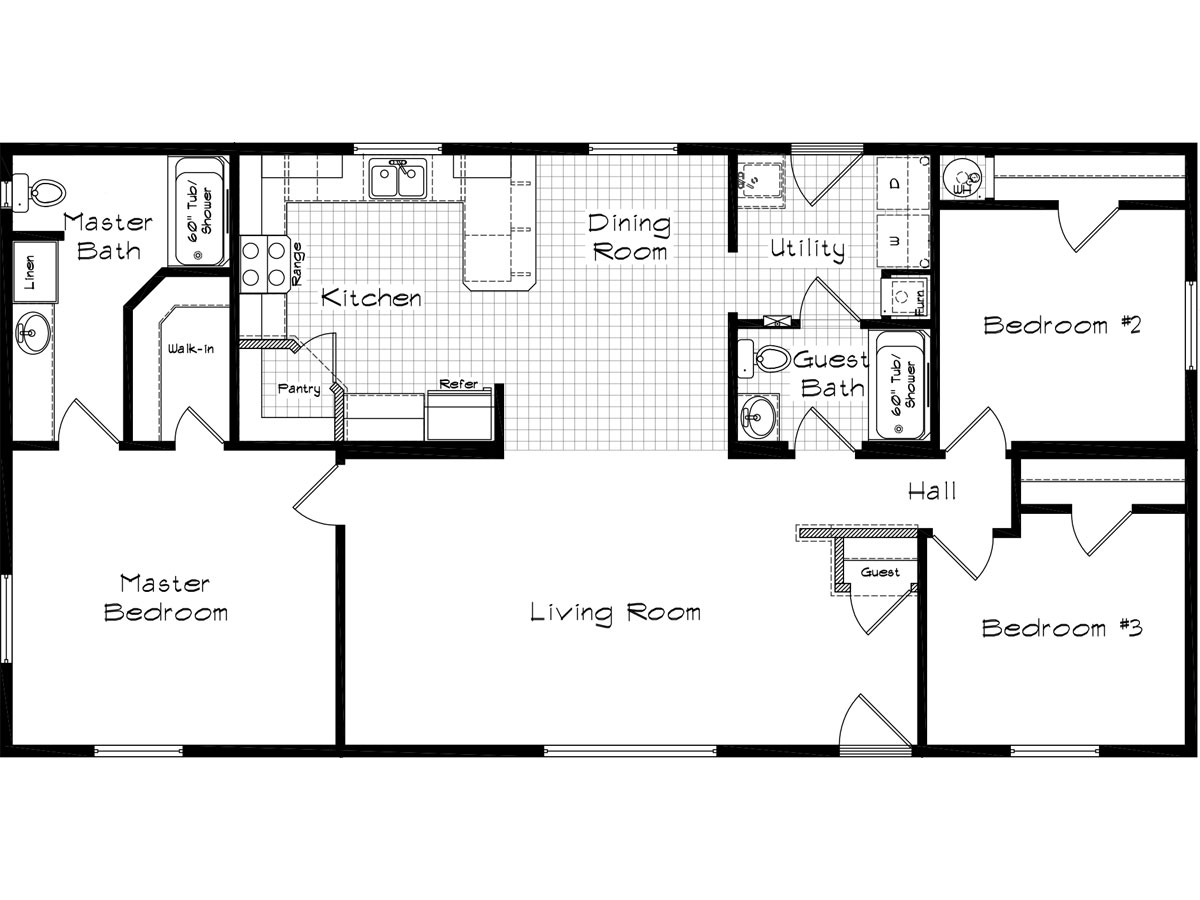 Floor Plan Layout: Cedar Canyon / 2011