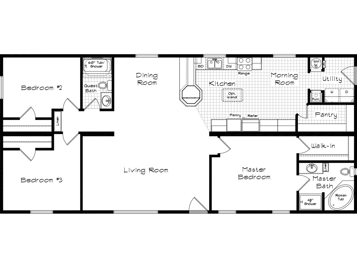 Westwind homes in twin falls id manufactured home dealer for Cedar home floor plans