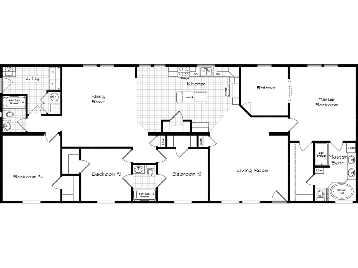Floor Plan Layout: Cedar Canyon / 2074