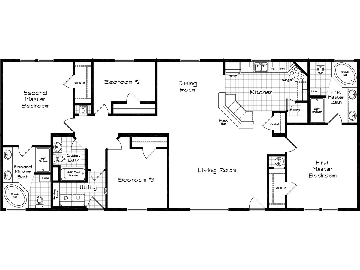 Carefree homes for Cedar homes floor plans