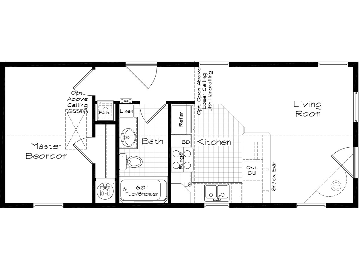 Floor Plan Layout: Cedar Canyon / 2070