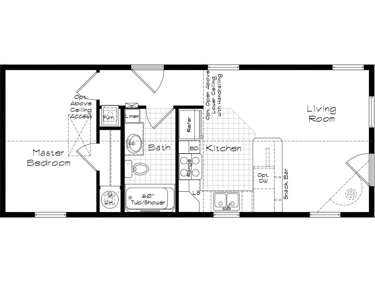Floor Plan Layout: Cedar Canyon / 2070