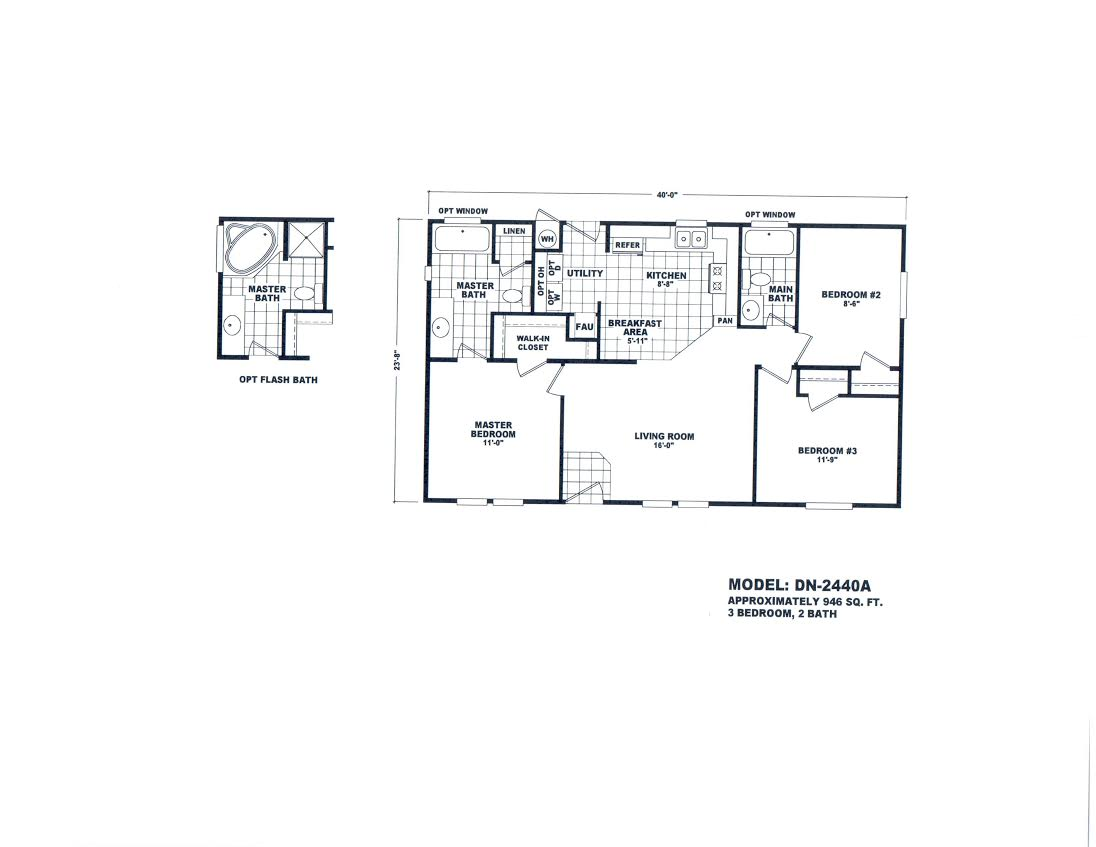 Floor Plan Layout: Value Plus / DN2440A