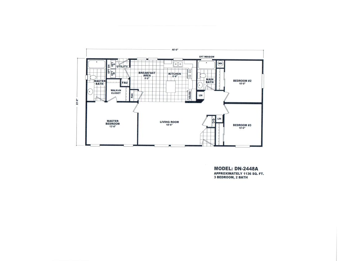 Floor Plan Layout: Value Plus / DN2448A