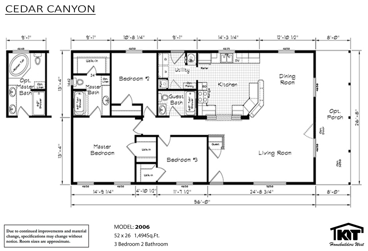 Cedar canyon 2006 home by williamette homes for Cedar home floor plans