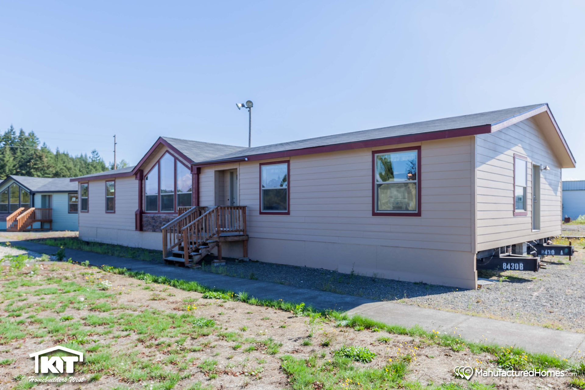 Washington home center in shelton wa manufactured home for Kit west homes