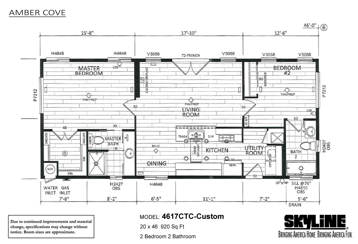 Skyline homes san jacinto manufactured homes and modular for Custom building plans