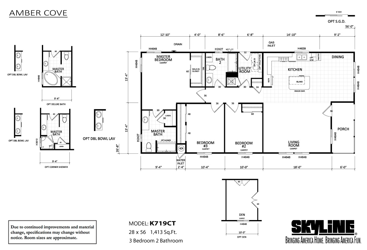 amber-cove-K719CT-layout-99 Skyline Amber Cove Manufactured Homes Floor Plans on skyline mobile home 1960, modular home plans, 1999 skyline manufactured home plans, skyline mobile home parts, 2006 skyline manufactured home plans, skyline lexington manufactured home, 1973 skyline manufactured home plans, skyline double wide homes, skyline single wide mobile homes, 2010 skyline mobile home plans,