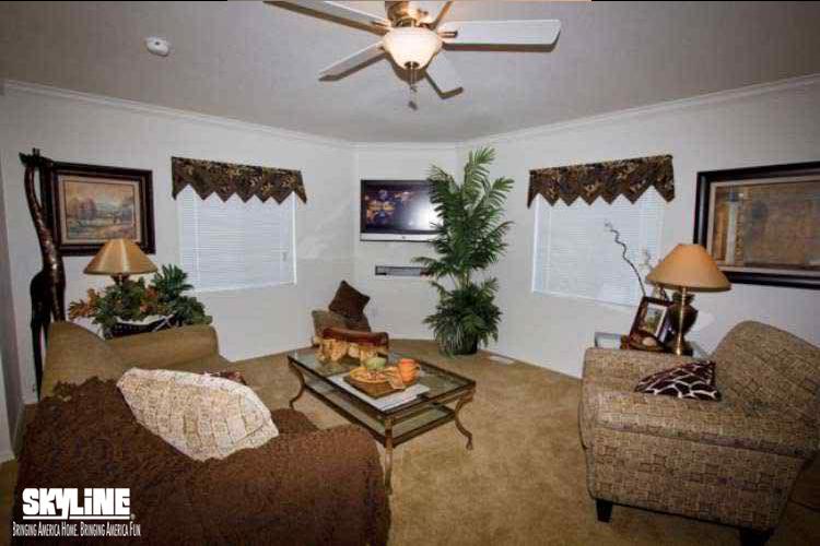 Floor Plan Layout: Sunset Ridge/K500G