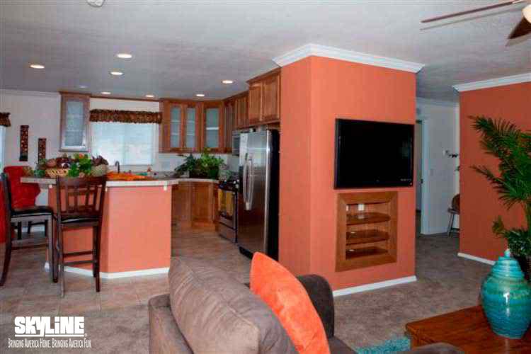 Floor Plan Layout: Sunset Ridge/K536G