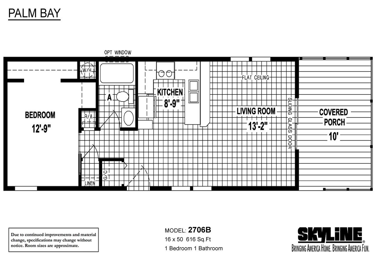 Floor Plan Layout: Palm Bay / 2706B
