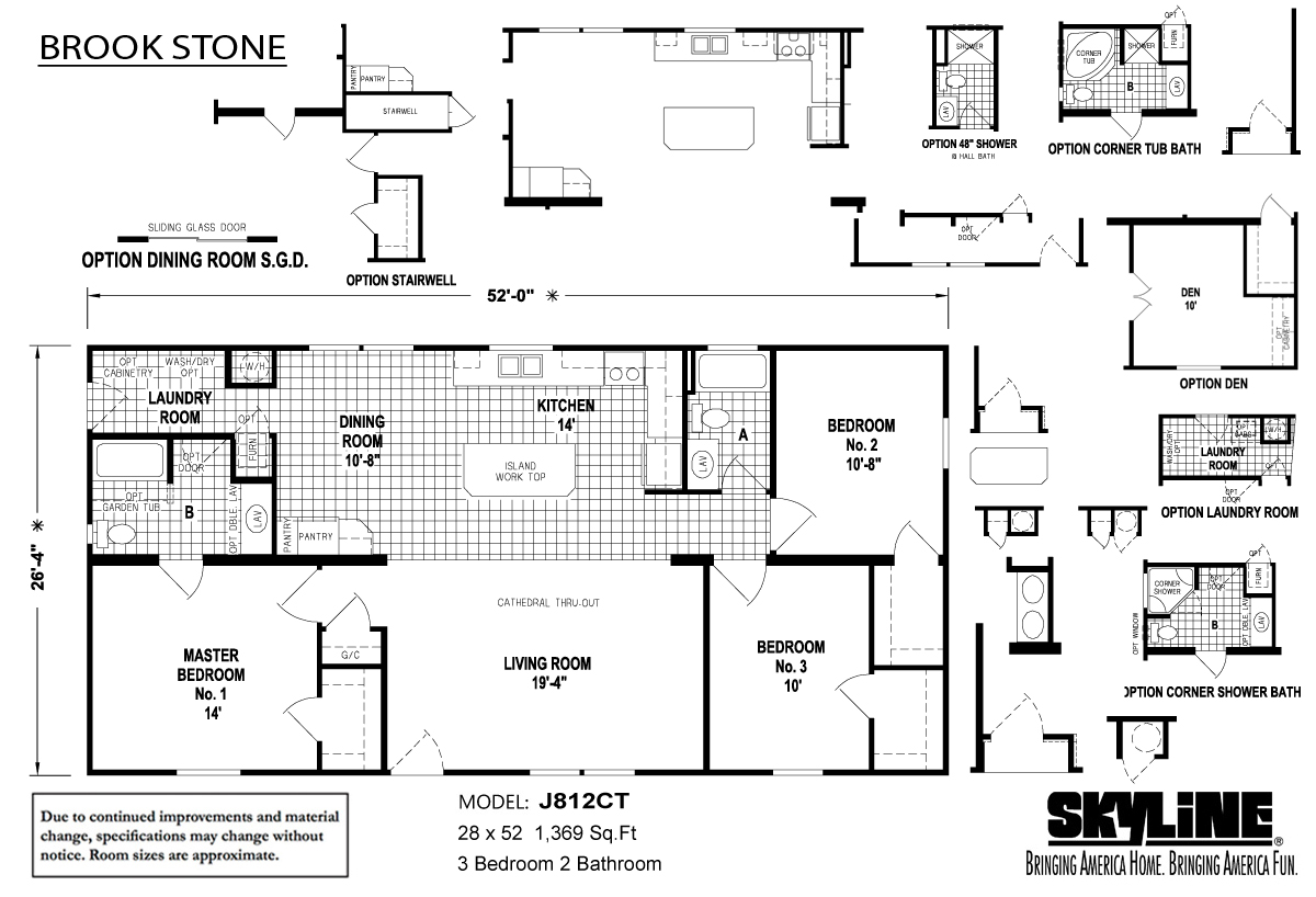 Floor Plan Layout: Brookstone / J812CT