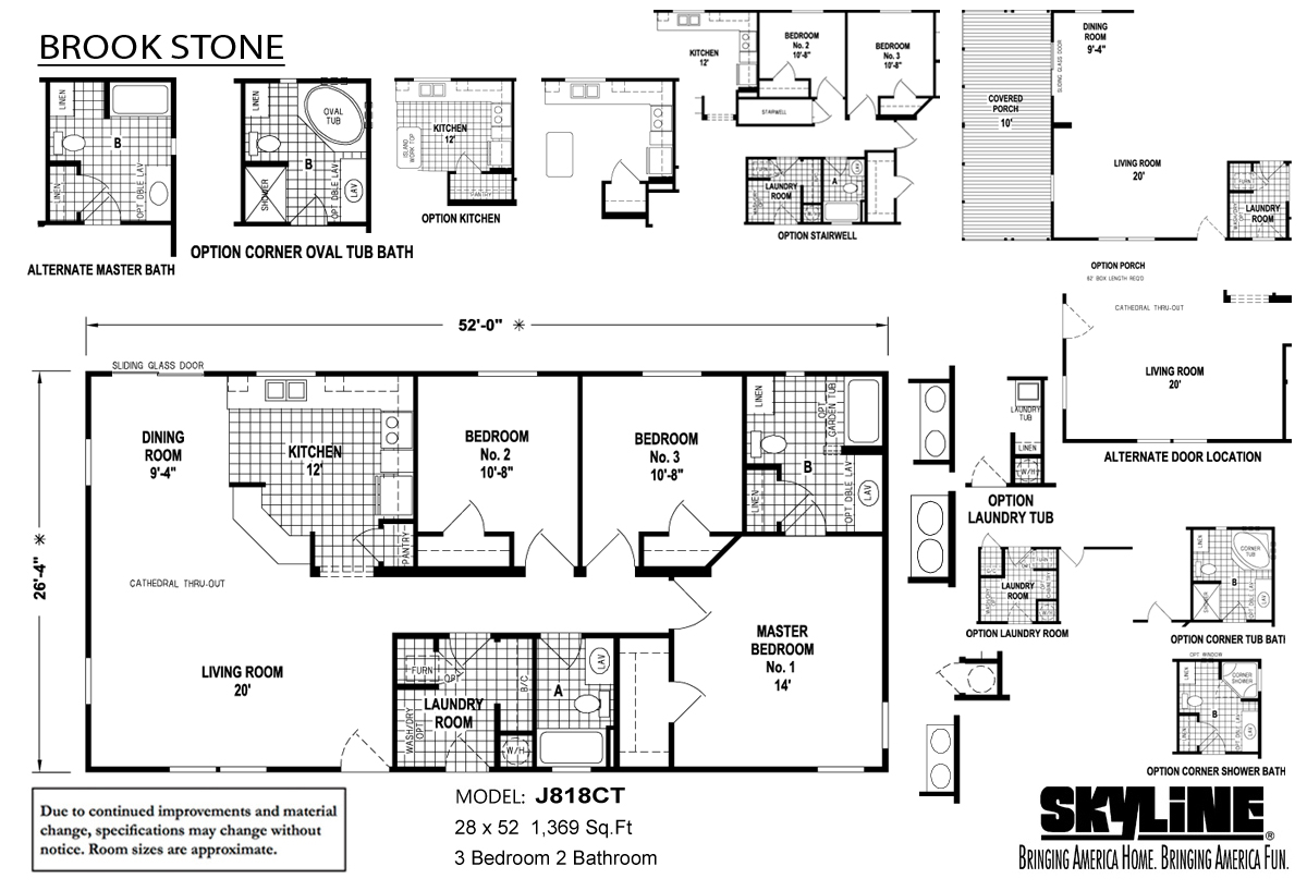 Floor Plan Layout: Brookstone / J818CT