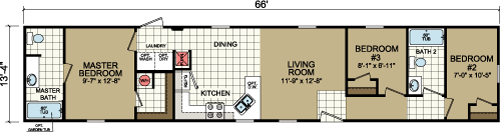 Floor Plan Layout: Advantage / 1470-205