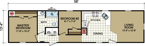 Floor Plan Layout: Advantage / 1460-203