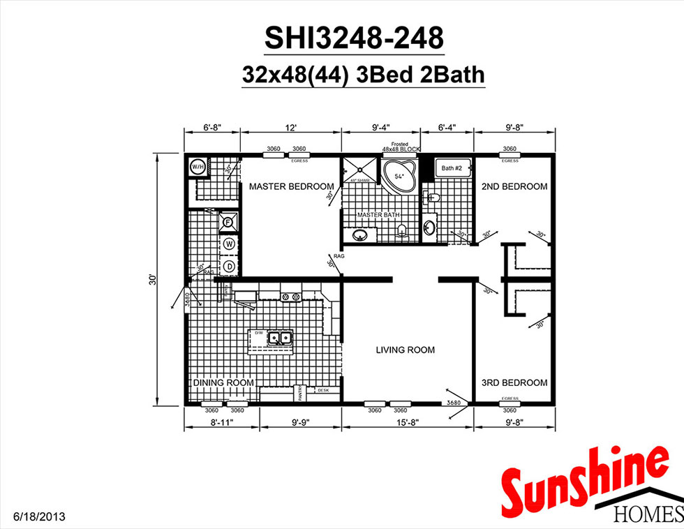 Independent shi3248 248 home by new castle homes for Castle modular homes