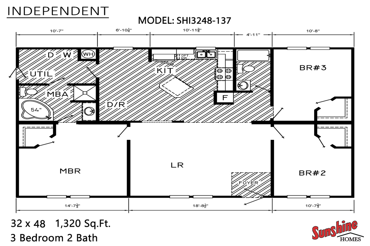 Floor Plan Layout: Independent / SHI3248-137
