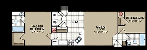 Floor Plan Layout: Great Plains / N656