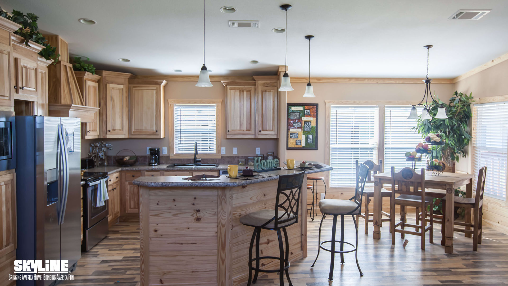 Floor Plan Layout: Sky Ranch/E222 Kerr