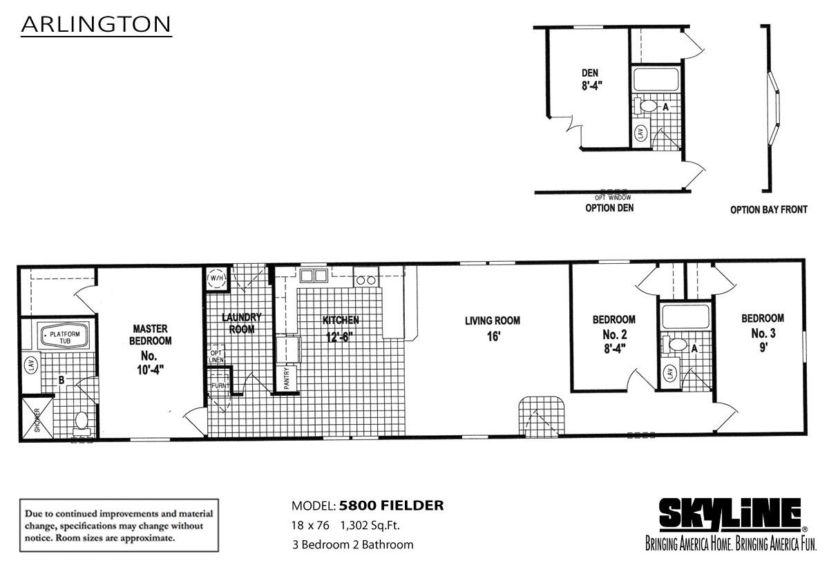 Arlington 5800 fielder home by oakwood homes of oklahoma city for Floor plans oklahoma