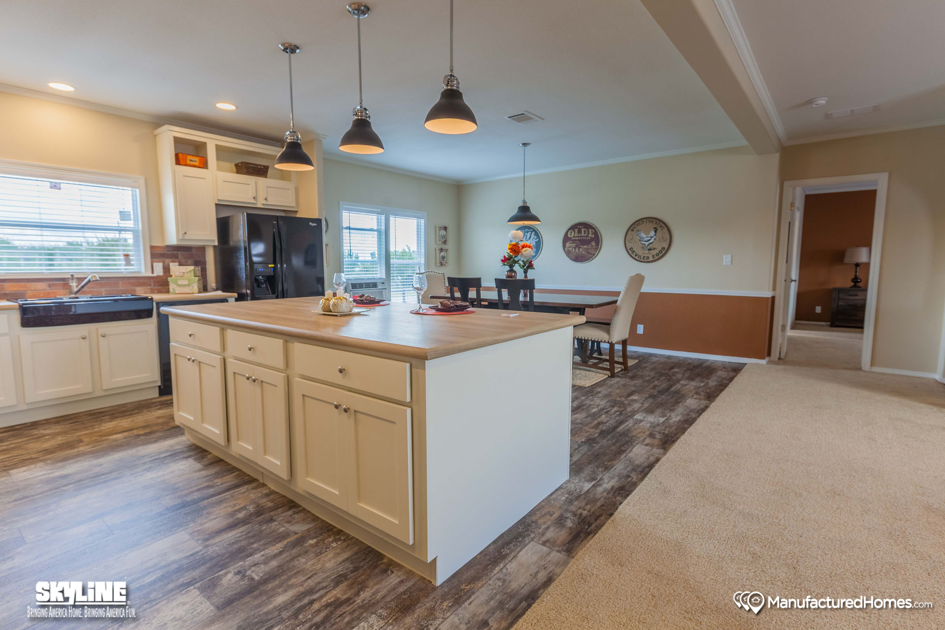 Twin lakes manufactured homes for Caldwell kitchen cabinets