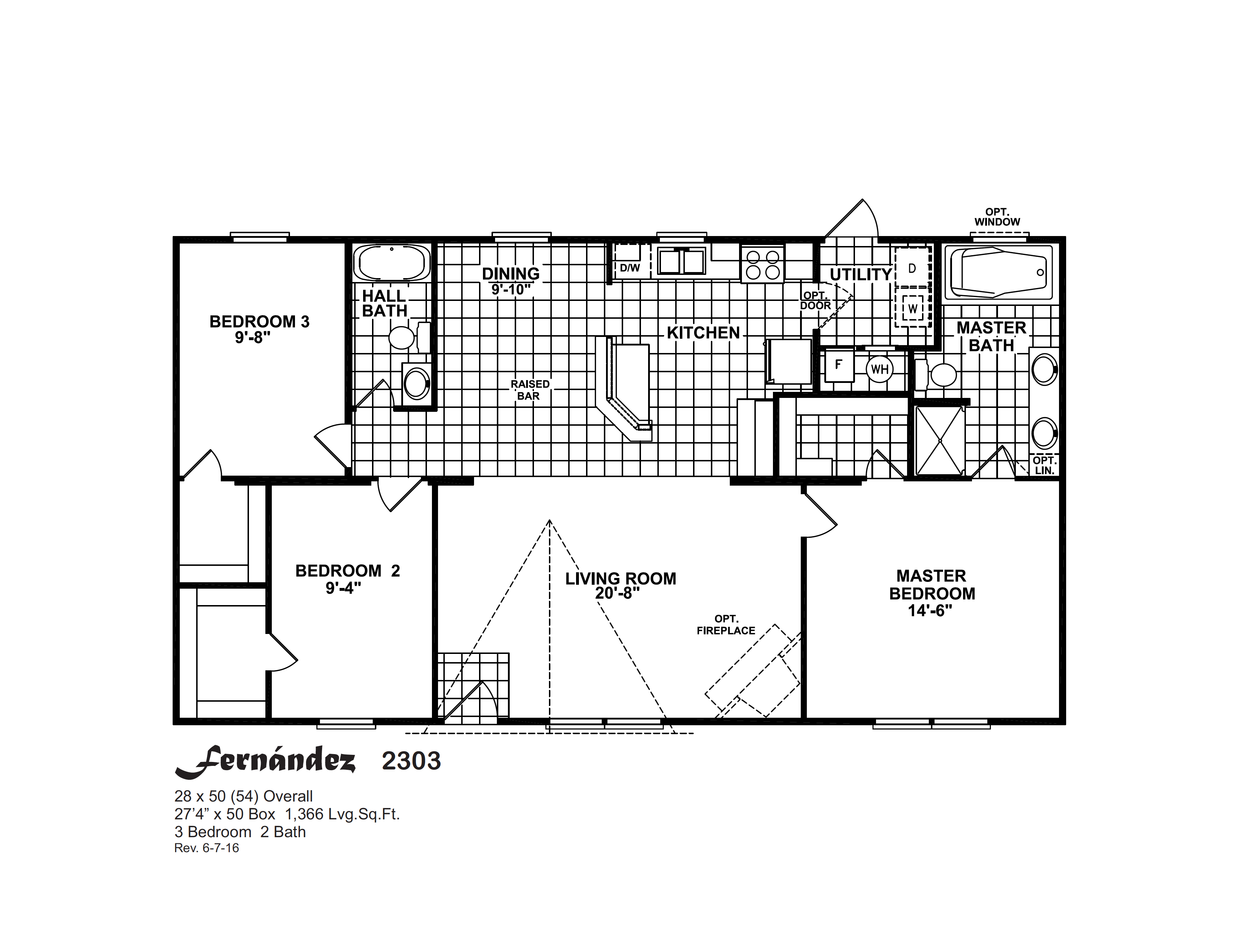 Floor Plan Layout: Compass / Fernández 2303