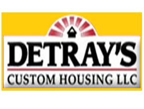 DeTray's Custom Housing logo