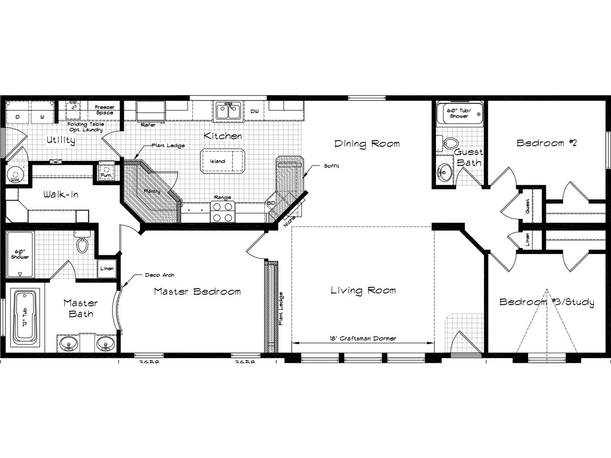 Golden west homes floor plans images for Floor layout