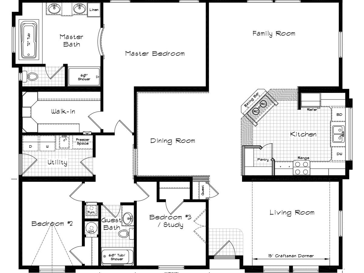 Floor Plan Layout: Golden State / 3007