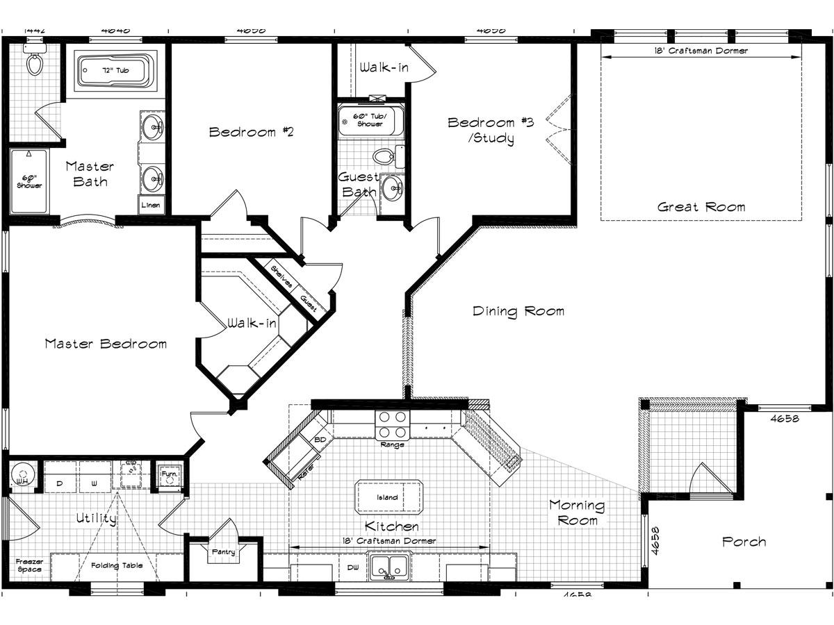 Floor Plan Layout: Golden State / 3008