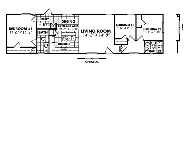 double wide mobile homes floor plans 1 floor plan layout classic 166432b 3 bedroom  mobile. Double Wide Homes Floor Plans  Huge Double Wide Home Floorplans