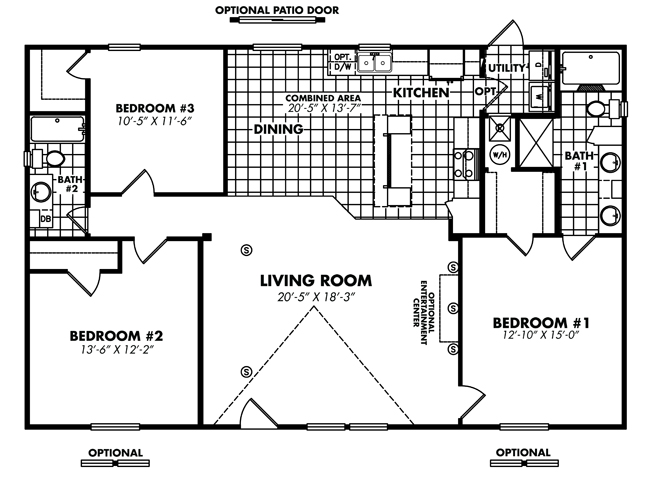 Floor Plan Layout: Heritage / 3252-32A