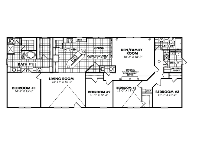 Floor Plan Layout: Heritage / 3280-425A