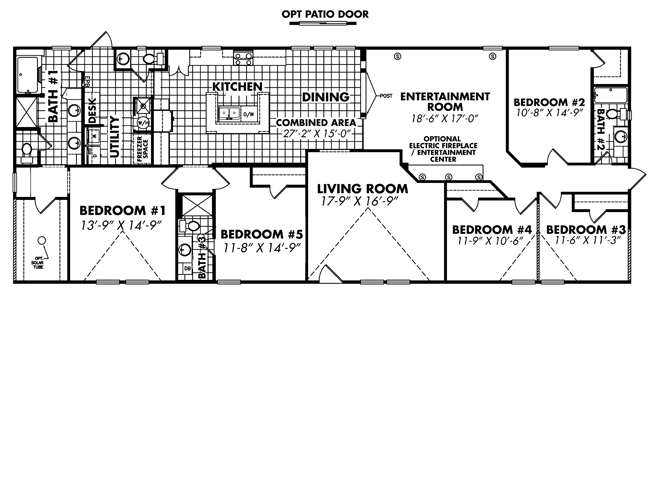 riorancho new mexico homes and modular homes for sale 5 bedroom homes 5. Modular Homes With Open Floor Plans  Springfield Iii Sq Ft 4