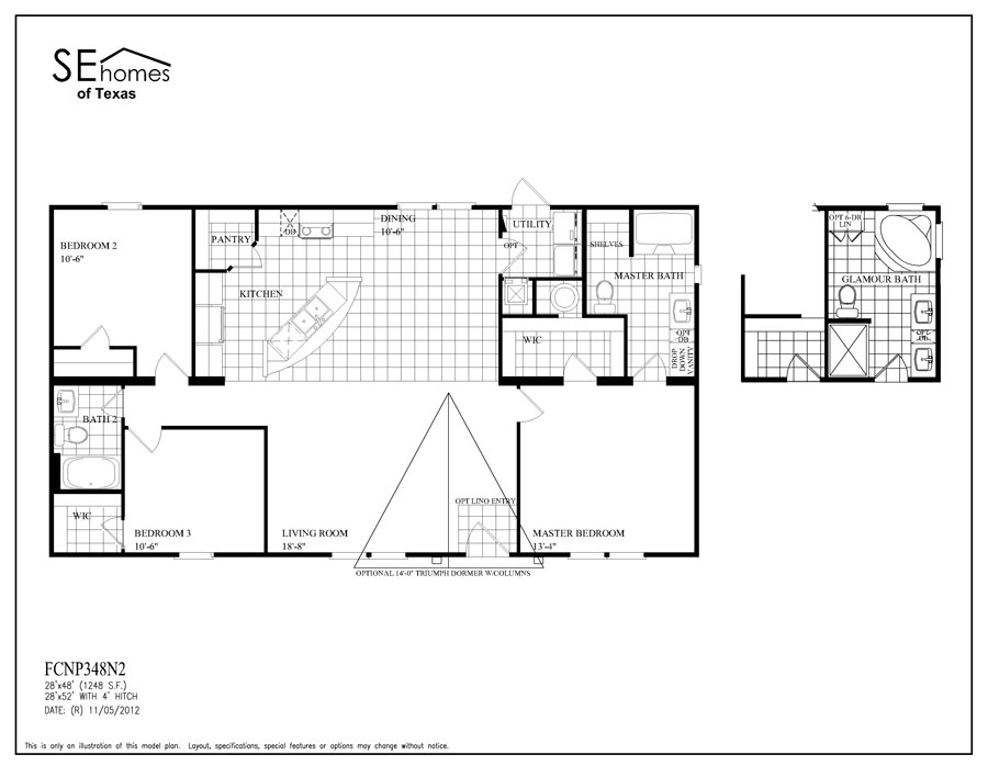 Floor Plan Layout: FC Triumph / 348N2-The Lombardi