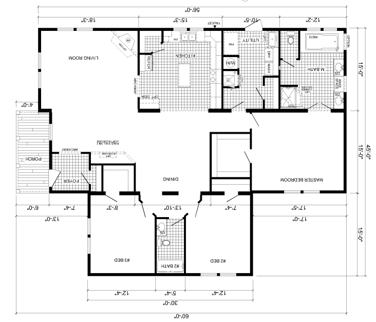 Deer Valley Mobile Home Floor Plans
