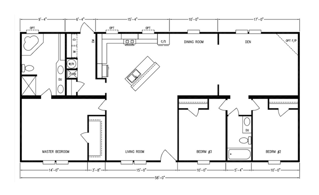 Floor Plan Layout: MD Series / MD-18
