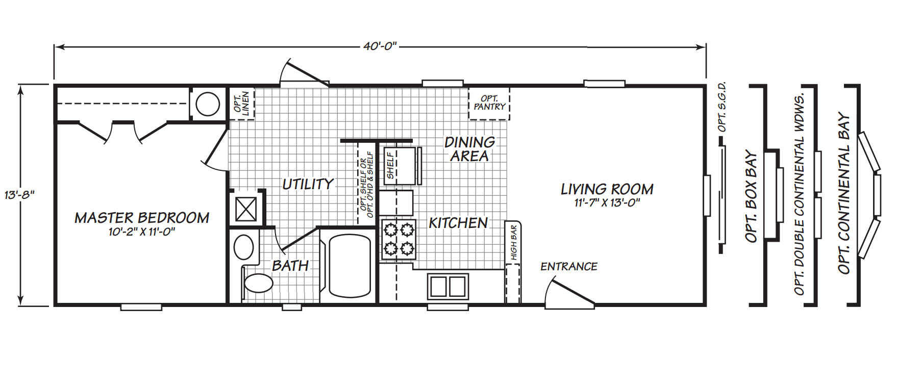Eagle 14401x home by anderson homes oklahoma city for Floor plans oklahoma